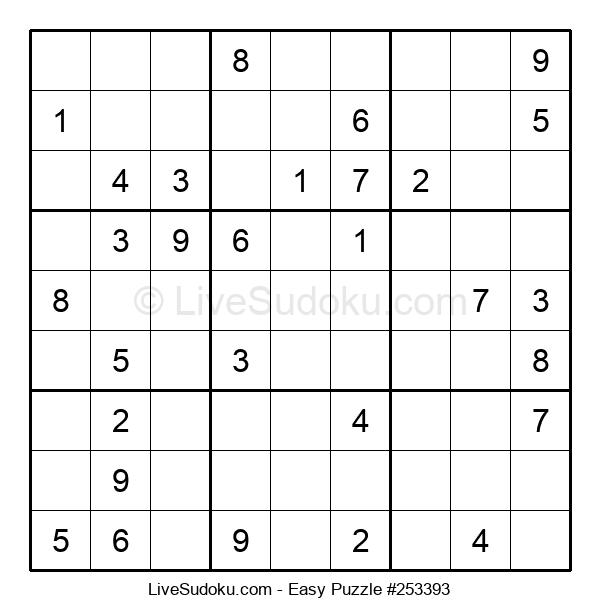 Beginners Puzzle #253393