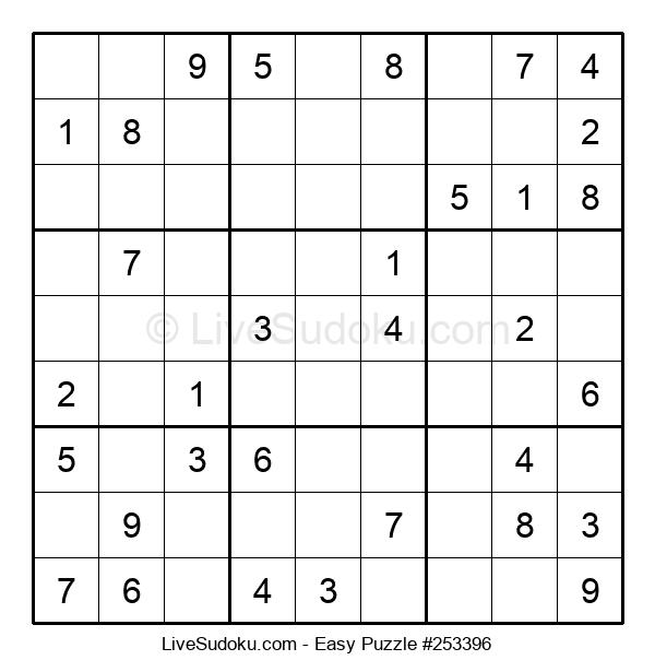 Beginners Puzzle #253396