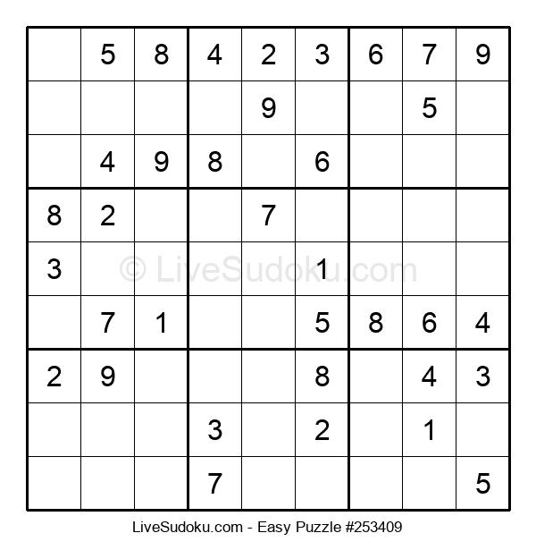 Beginners Puzzle #253409