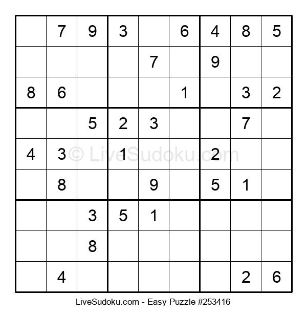 Beginners Puzzle #253416