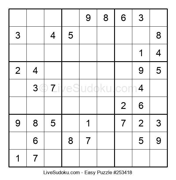 Beginners Puzzle #253418