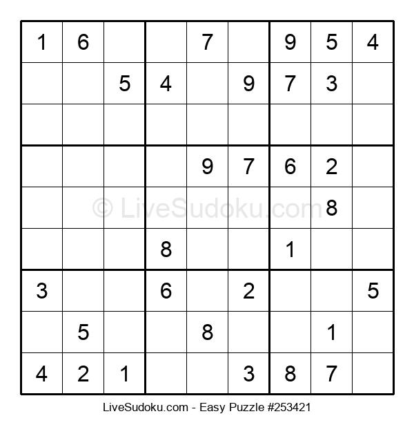 Beginners Puzzle #253421