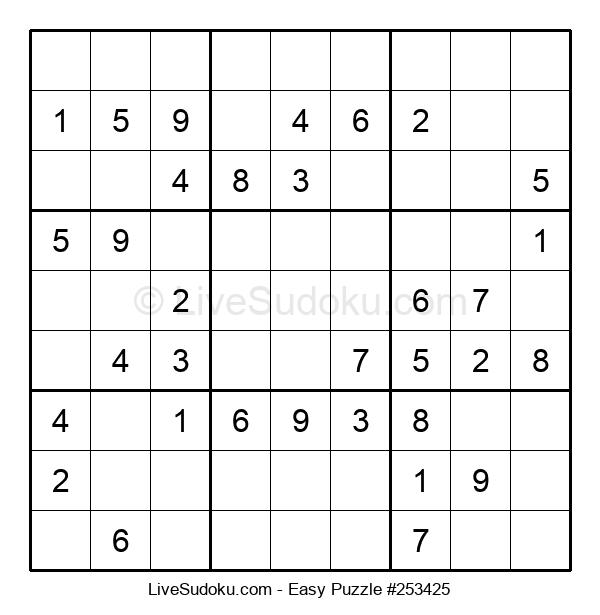 Beginners Puzzle #253425