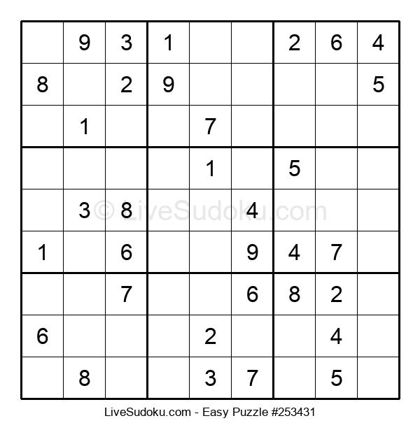 Beginners Puzzle #253431