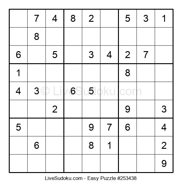 Beginners Puzzle #253438