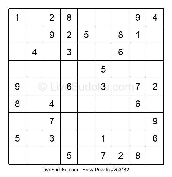 Beginners Puzzle #253442