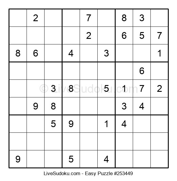 Beginners Puzzle #253449