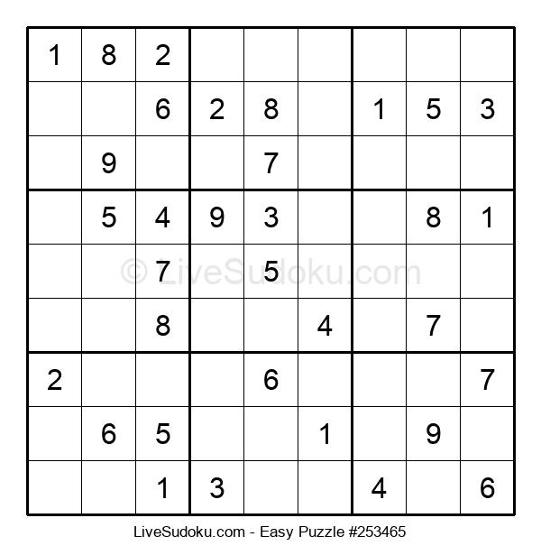 Beginners Puzzle #253465