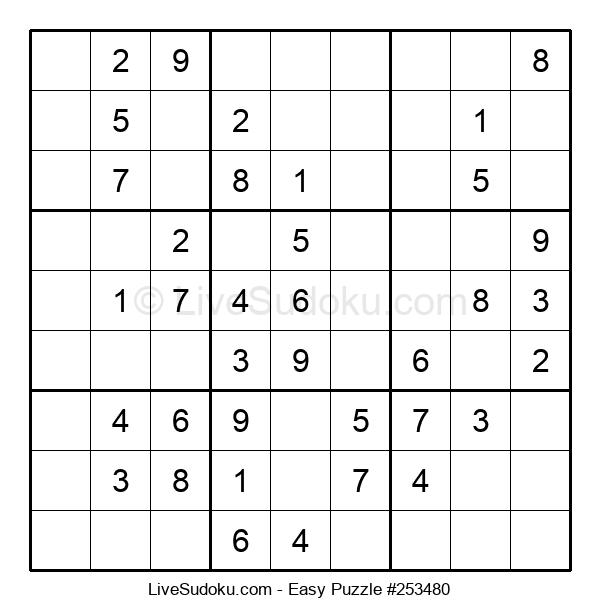 Beginners Puzzle #253480