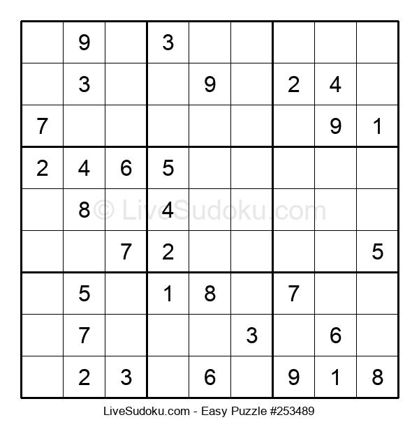 Beginners Puzzle #253489