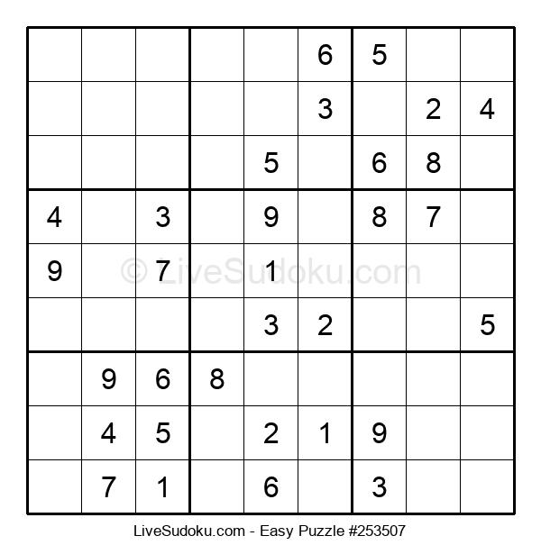 Beginners Puzzle #253507