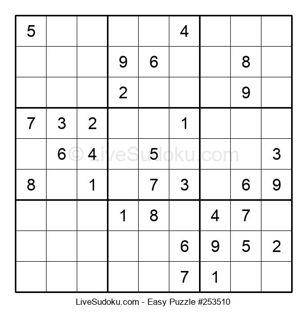 Beginners Puzzle #253510