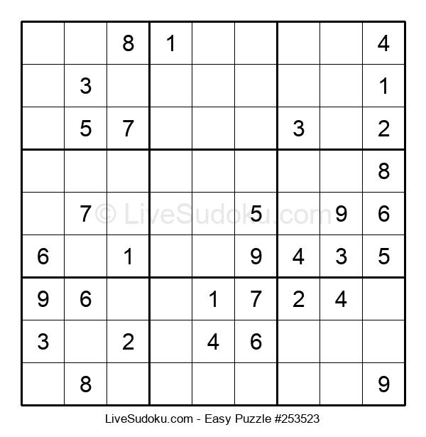 Beginners Puzzle #253523