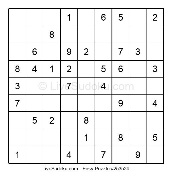 Beginners Puzzle #253524