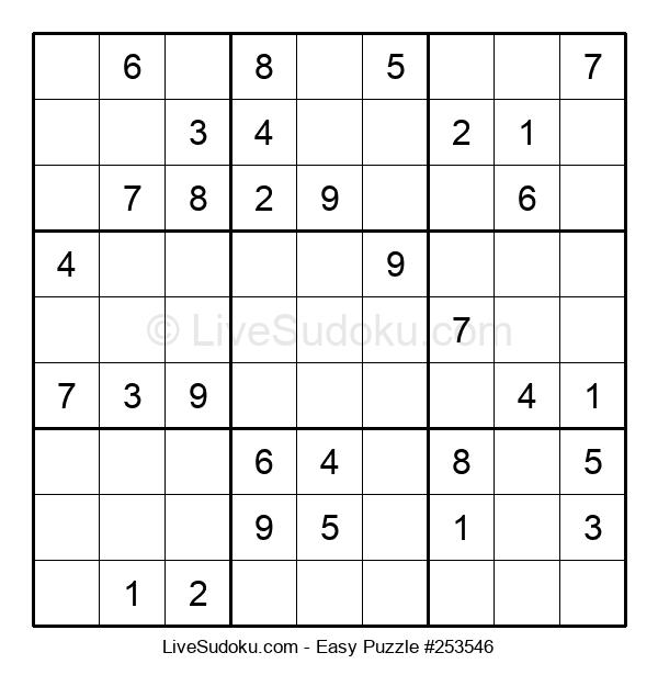 Beginners Puzzle #253546