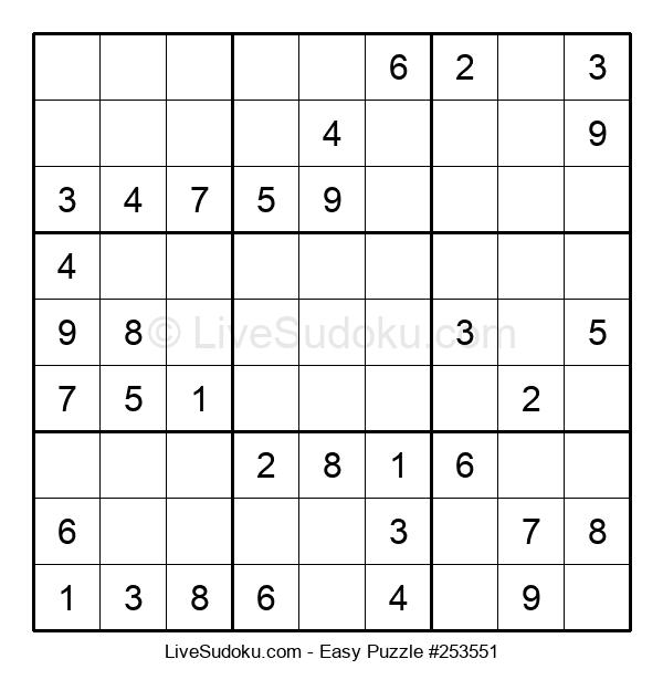 Beginners Puzzle #253551