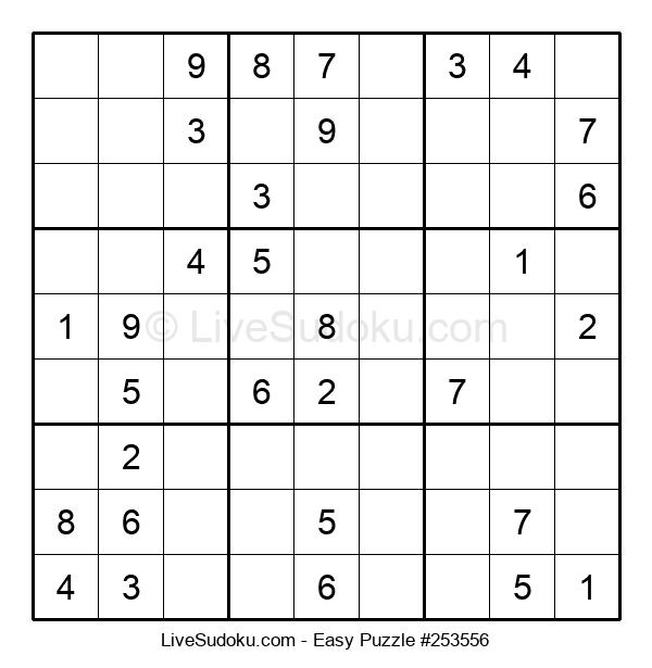 Beginners Puzzle #253556