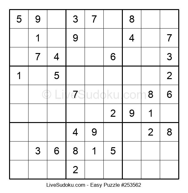 Beginners Puzzle #253562