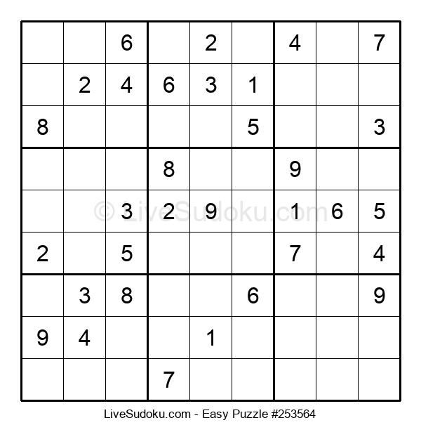 Beginners Puzzle #253564