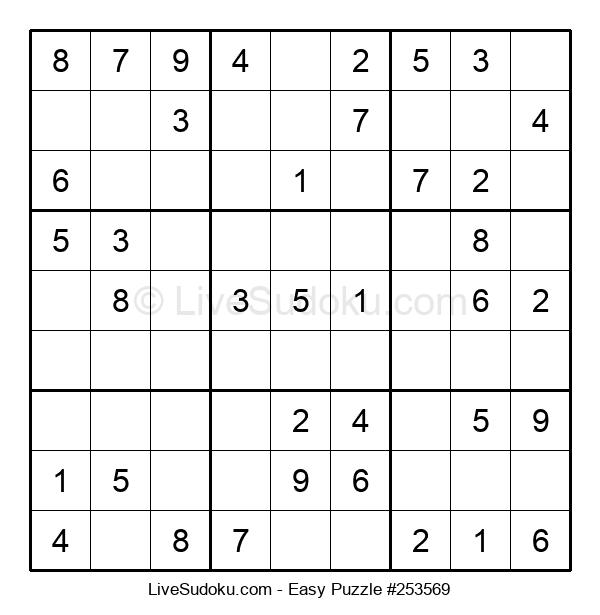 Beginners Puzzle #253569