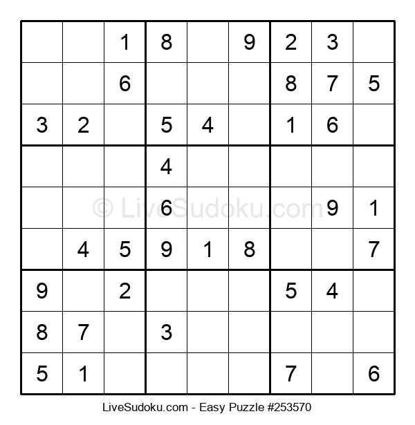 Beginners Puzzle #253570