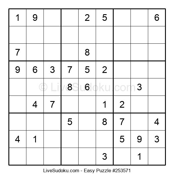 Beginners Puzzle #253571