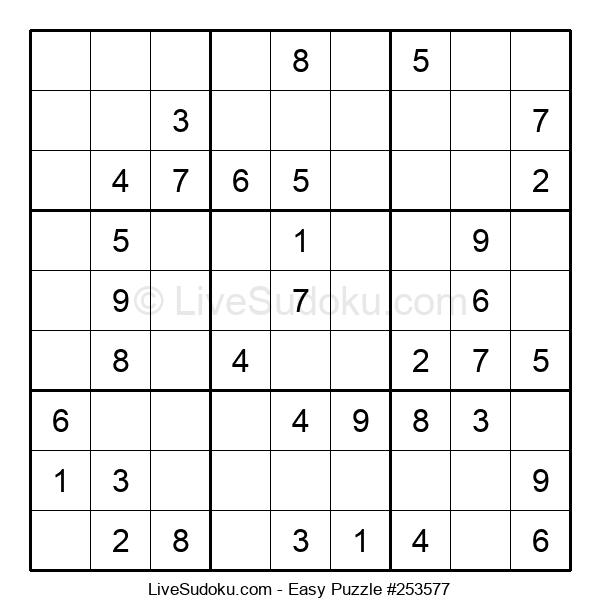 Beginners Puzzle #253577