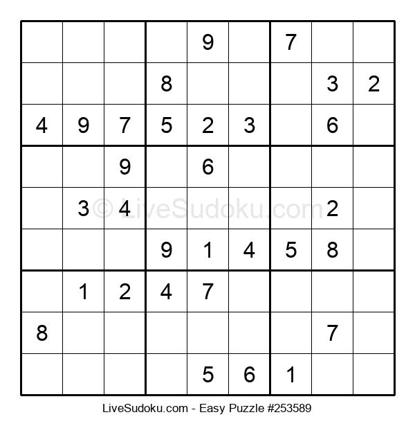 Beginners Puzzle #253589