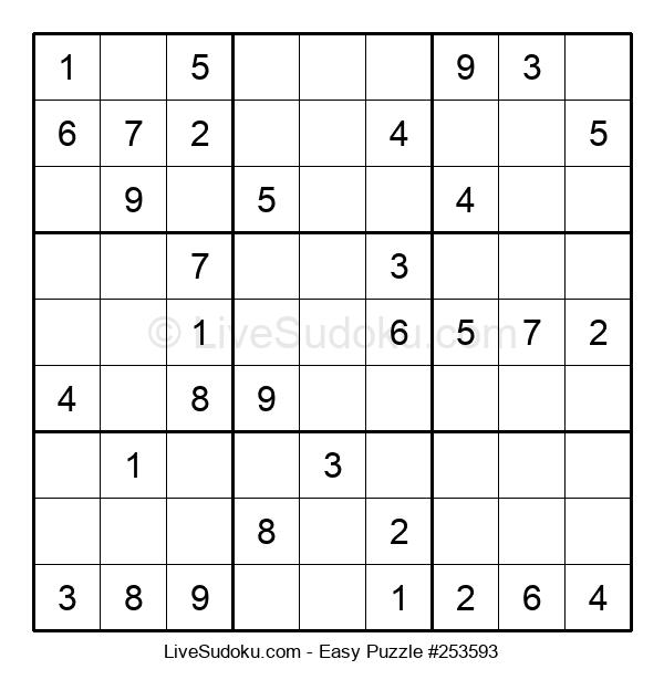 Beginners Puzzle #253593