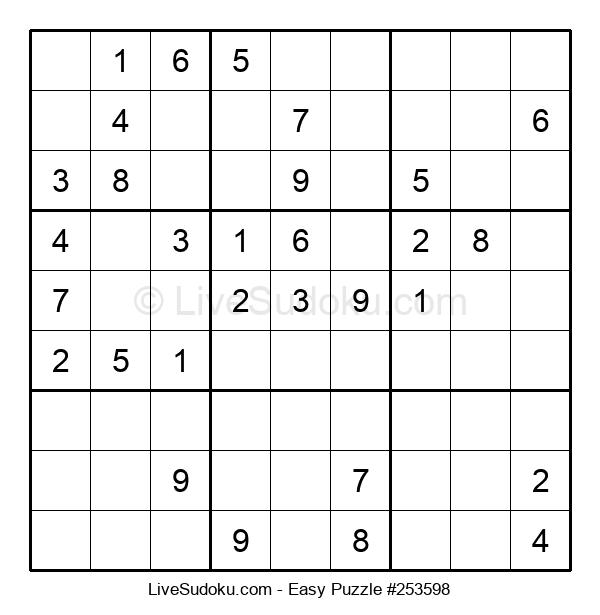 Beginners Puzzle #253598