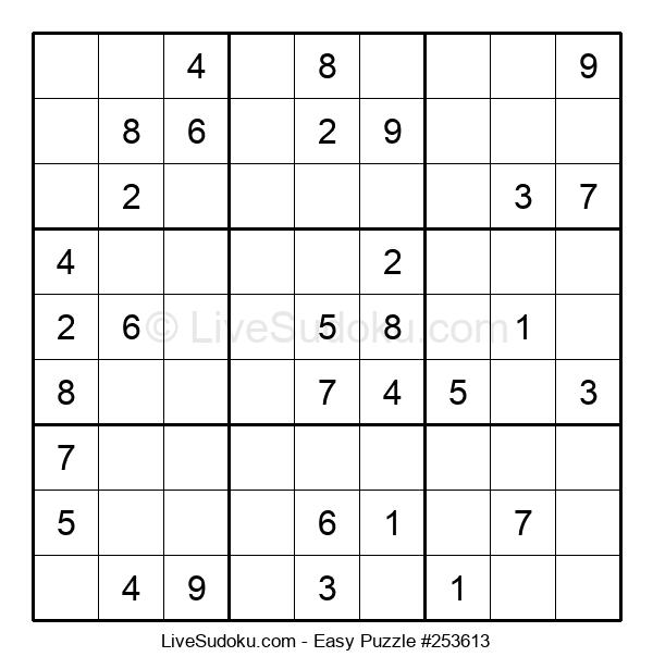 Beginners Puzzle #253613