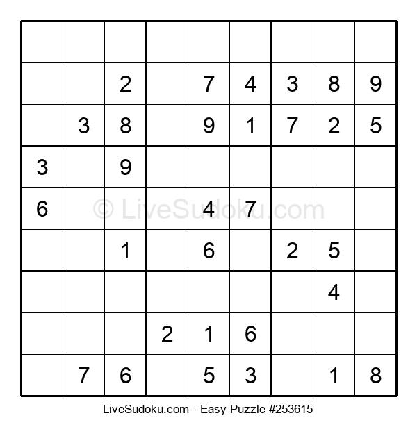 Beginners Puzzle #253615