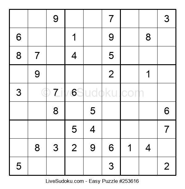 Beginners Puzzle #253616