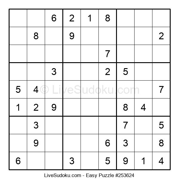 Beginners Puzzle #253624