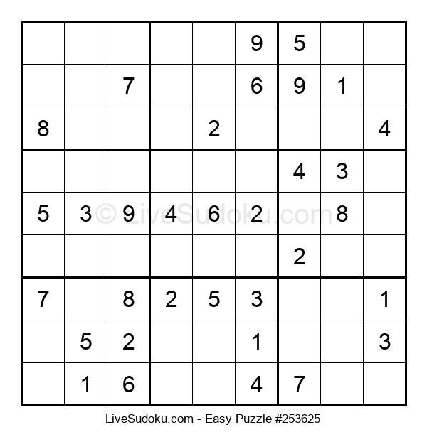 Beginners Puzzle #253625