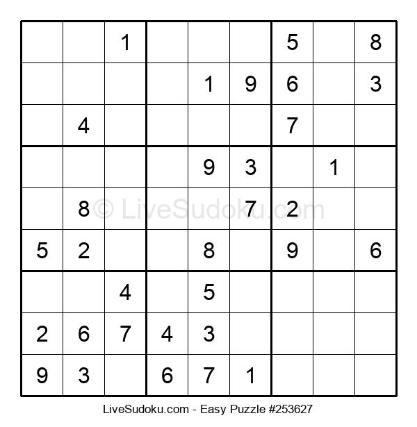 Beginners Puzzle #253627