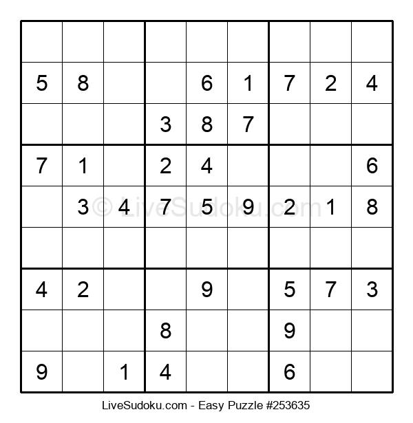 Beginners Puzzle #253635