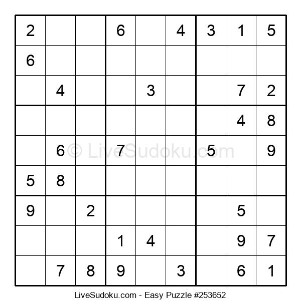 Beginners Puzzle #253652