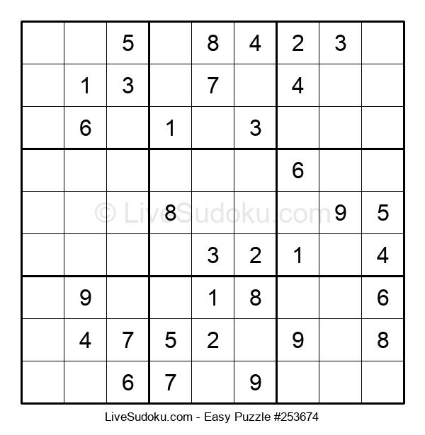 Beginners Puzzle #253674