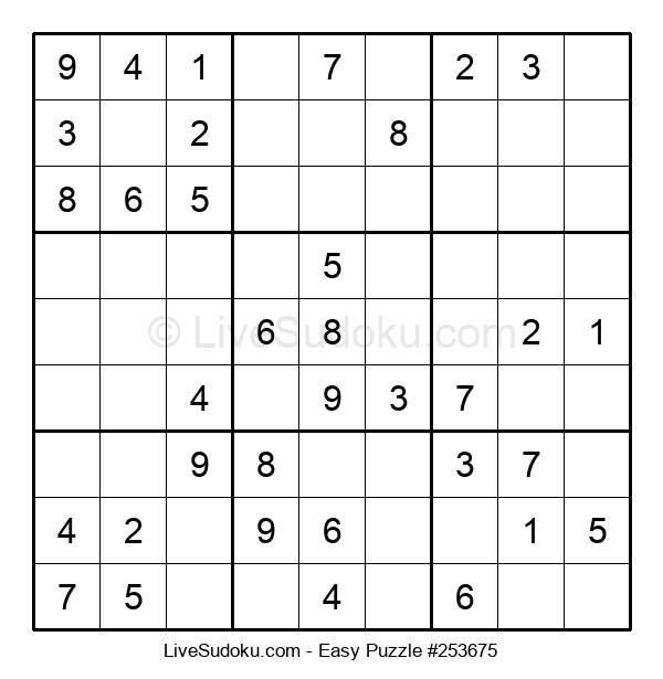 Beginners Puzzle #253675