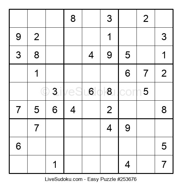Beginners Puzzle #253676