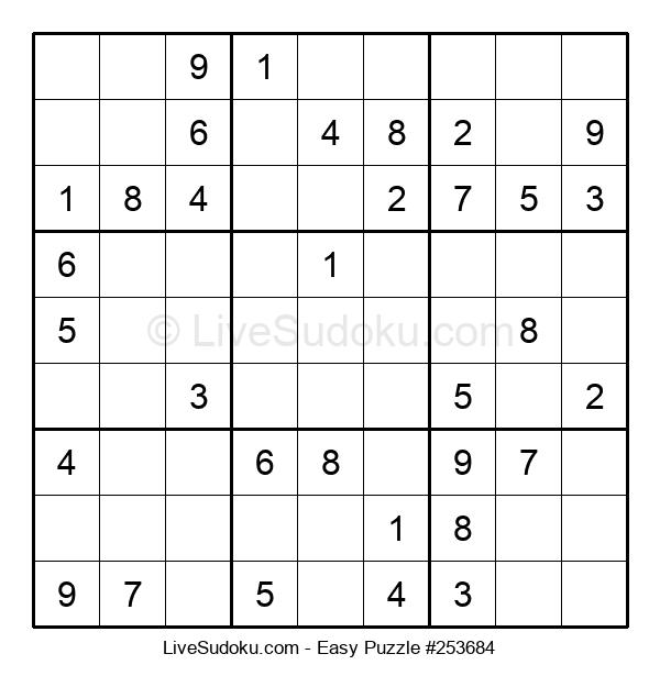 Beginners Puzzle #253684