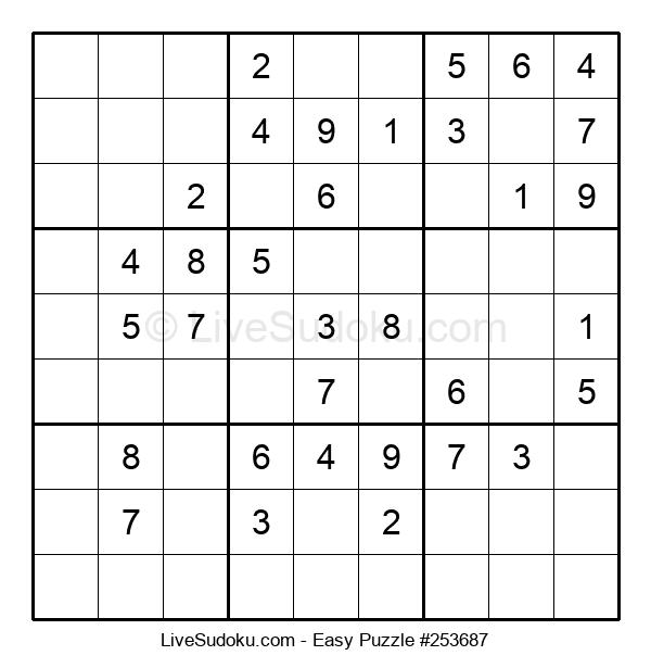 Beginners Puzzle #253687