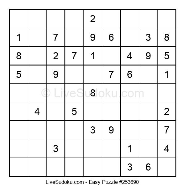 Beginners Puzzle #253690