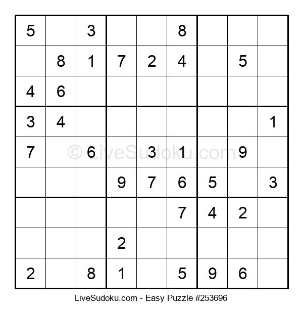 Beginners Puzzle #253696