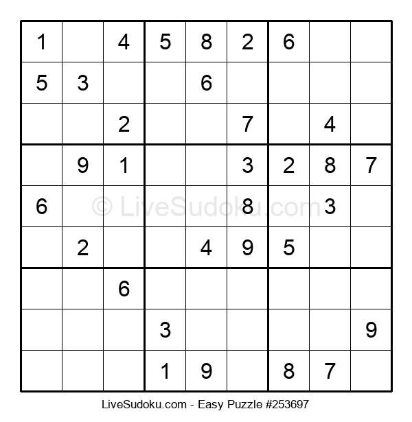 Beginners Puzzle #253697