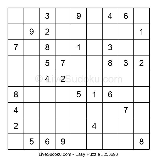 Beginners Puzzle #253698