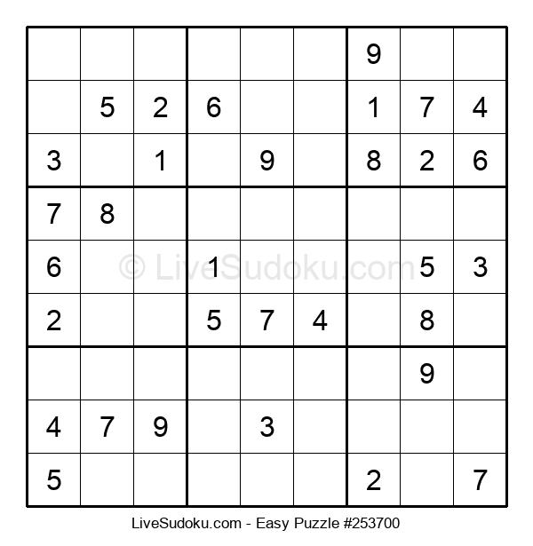 Beginners Puzzle #253700