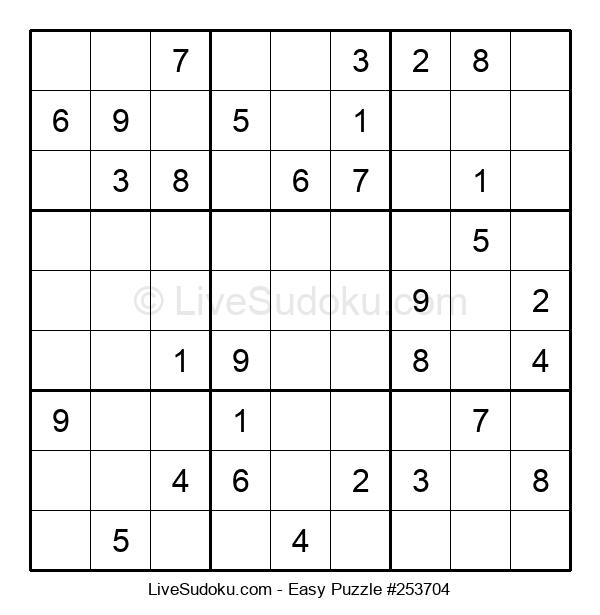 Beginners Puzzle #253704