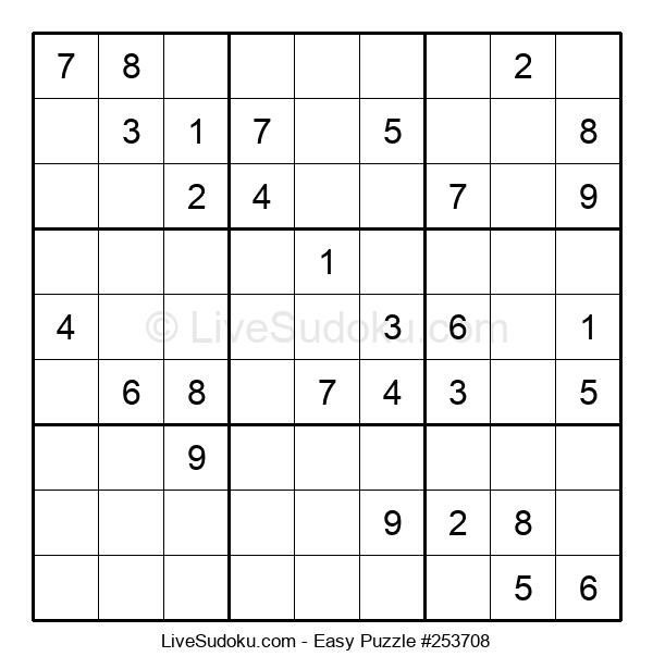 Beginners Puzzle #253708